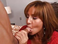 Hottie Tara Holiday rams a hard dick down her throat
