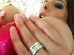 Hawt Doxy Zafira Is Loving The Outstanding Toy She Stuffs In Her Pink Snatch