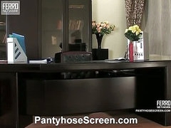 Alice&Mike awesome pantyhose video