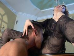Helena&Govard kinky hose sex episode