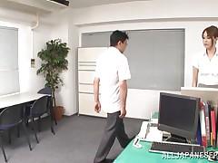 she dominates her employee