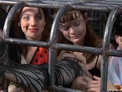 Nice sluts in cage