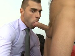 Unfathomable anal drilling session for sophisticated gay stud
