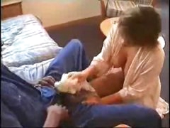 Cheating youthful wife with a black lover