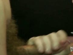 Bareback fucking and cock eating